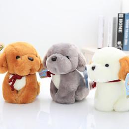 Wholesale Brown Dog Stuffed Animal - plush toys dog stuffed animals mini cute goll gifts boys and girls all like birthday present