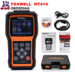 Wholesale Lexus For Cheap - Foxwell NT414 Four System Diagnosis Scan Tool Engine ABS Airbag Reset Universal Automotive Scanner Cheap than Autel MD802