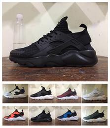 Wholesale Fishing Khaki - 2016 New Air Huarache II Running Shoes Huarache Running trainers for men&women Outdoors Shoes Huarache Sneakers Free Shipping