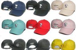 Wholesale Fishing Visor Hats - 2017 Cartoon Snoopy Peanuts Snapback Hat Trucker Visors Cap LOVE figureBird fish Embroidery Comic Baseball Hats Bone Golf Hat Gorras Chapeau
