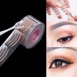 Gros-300Pairs Womens Narrow Eye Tape Double paupière autocollant naturel grand yeux autocollant Fpr beauté Eye Makeup Tool ? partir de fabricateur