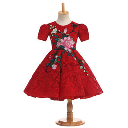 Wholesale Cute Kids Christmas Photos - 2017 Real Photo Flower Girls For Wedding Dresses Short Sleeve Flower Cute Applique Medium Ankle-Length Jewel Capped Communion Gown For Kids