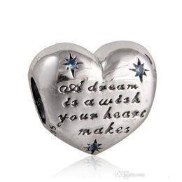 2017 новый 925 стерлингового серебра ювелирные изделия Золушка сердце Шарм бусины с необычные светло-голубой Cz для женщин подходит Pandora браслеты DIY решений от