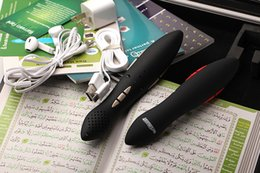 Wholesale Quran Reading Free - Wholesale-Newest Arrival 8GB Quran Digital Holy quran read pen One Year Warrant y Player digital voice recorder free shipping