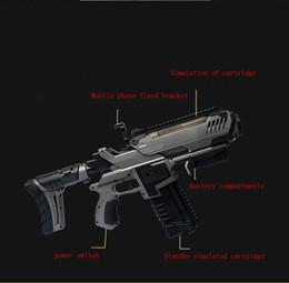 Argentina 2017 NUEVO AR-GUN VR Juego de Realidad Aumentada Juegos de Disparo Teléfonos Inteligentes Bluetooth Control Toy Gun Estilo Largo Suministro