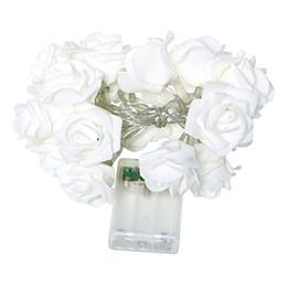 Gros-20 LED Rose Fleur Lumière Flasher Lumière Chaîne Nouveauté Maison De Mariage Jardin Saint Valentin Éclairage Décoratif Fée Lumière ? partir de fabricateur