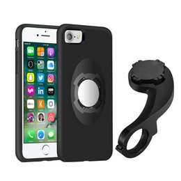 Wholesale Bike Iphone Holder - New Arrival Bike Bicycle Phone Mount Holder Car Holder for iPhone 7 7 plus 4.7 5.5 inch Shockproof Case Holder Kit