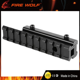 """Wholesale Airsoft Rails - FIRE WOLF Scope Adapter Rail Mount Crossbow Airgun 3 8"""" Dovetail to 7 8"""" Weaver Picatinny 11 to 20mm Rifle Pistol Airsoft Base"""