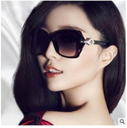 Lunettes montures ms en Ligne-Ms big box big frame lunettes lunettes de soleil tendance Temperament des lunettes de soleil