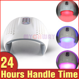 Wholesale Infrared Beauty Light - Best Price 292 LED Red Blue Infrared Light PDT Facial Care Skin Rejuvenation Spots Pimples Removal Beauty Lamp Machine