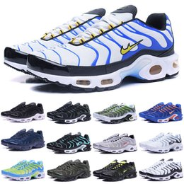 Wholesale 60 Colors High Quality Hot Sale TN Men s Running Sport Footwear Sneakers Trainers Shoes size