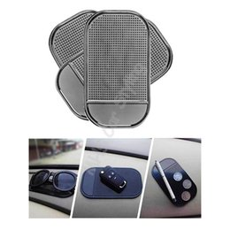 Wholesale Automobile Car Mats - Wholesale- Automobiles Interior Accessories for Mobile Phone Mp3mp4 Pad GPS Anti Slip Car Sticky Anti-Slip Mat
