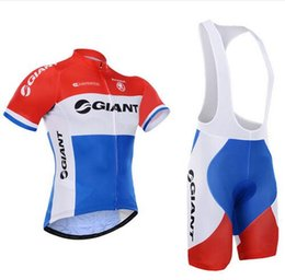 Wholesale Mtb Shorts Giant - 2016 Giant Ropa Ciclismo Cycling wear Cycling Jerseys Pro Summer Cycling Clothing Breathable Cycle Clothes MTB Bicycle Sports