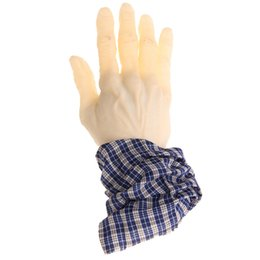 Wholesale Halloween Props Arm - Wholesale- 20cm Ghastly Trick Surprise Fake Arm Hand Severed Halloween Props Prank Toy