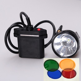 Wholesale Miners Cap Lights - Hot Sale New KL11LM 10W CREE U2 LED Hunting Headlamp Miner Cap Light Miners Lamp Free Shipping