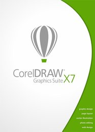 Wholesale Home Works - Full Active 100 % working Corel CorelDRAW Graphics Suite X7 for WIN Full Version Color packaging Download + serial key