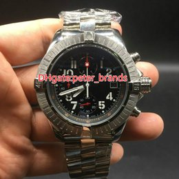 Wholesale Evolution Watch - Luxury Mens Quartz Chronograph Windrider sports Chronomat Watch Evolution stainless steel sport men Watches 47 MM