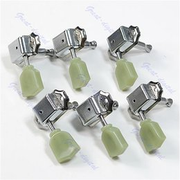 Wholesale Deluxe Machine Heads - Wholesale- New Guitar 3R 3L Deluxe Tuning Pegs Machine Heads Tuners For Style
