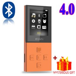 Wholesale Voice Reader Player - Wholesale- Ruizu X18 Lossless Mp-3 Digital Sport Audio Flac Hifi Mp 3 Mini Music Mp3 Player Bluetooth Radio FM 8GB With Screen Lcd Wav Wma