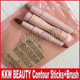 Wholesale Highlight Contour Shading - Kylie KKW Beauty Creme Contour & KKW Beauty Highlight Kit Contour, Shade, Highlighters by Kim Kardashian DHL free shipping