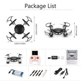 2019 aerei remoti elettrici 016 MJX X906T 2.4G 4CH 6-Axis Gyro 5.8G FPV RC Quadcopter Mini droni con fotocamera 2.0MP HD