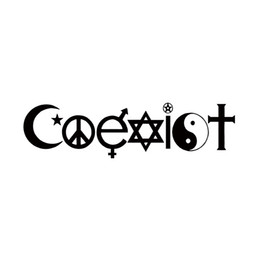 sticker designs for cars Coupons - 2017 Hot Sale Coexist Vinyl Graphics Decal For Car Truck Bumper Sticker Funny Peace Hippie New Design Jdm