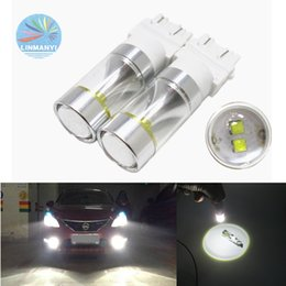 Wholesale Chip Beam - 30W t25 3156 3157 p27 7w Led Chip Light 6LED Fog Light Car Styling Lamp Lighting Bulb Headlight Automotive Driving DRL Xenon White