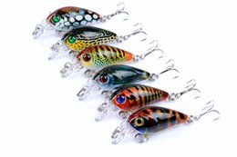 Wholesale catfish lures - Topwater Fishing Lures Artificial Bait Wobbler Attract Catfish Carp Bite 4g 45mm Big Game Crankbait Pesca Tackle Hooks