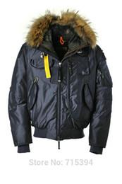 Wholesale Winter Coats Norway - Cold Polar 2017 Winter Men's Down Jacket Waterproof Parka Fur Collar Hombre Coat 100% White Duck Down Sport top quality Russia Norway