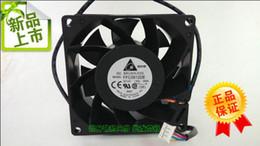 Wholesale High Temperature Ball Bearings - delta FFC0812DE DC12V 1.80A 80*80*38MM four line PWM high air temperature control fan