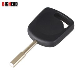 Wholesale Ford Focus Transponder Key - car BIGHEAD 30X Transponder Uncut Blank Blade Key Shell For Ford Focus Mondeo KA Jaguar XJ8 Transit Connect No Chip Free shipping
