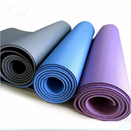 Wholesale Good Quality Blankets - TPE Yoga Mat Fitness Mat Good Quality Yoga Blanket Anti Skid Wholesale Fitness Supplies Sports & Outdoors