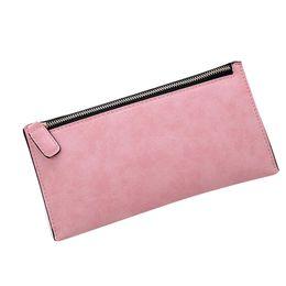 Wholesale Female Money - Wholesale- 20147 Hot Sale Fashion Women Leather Purse Clutch Card Holder Wallet Female Long bags Money Bag Vintage Drop shopping #751323