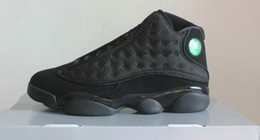Wholesale Cheap Winter Cats - Drop Shipping Air Retro 13 Black Cat 3M reflect With Real Carbon Fiber Men Basketball Shoes,Cheap discount Men's Training Sports Sneakers