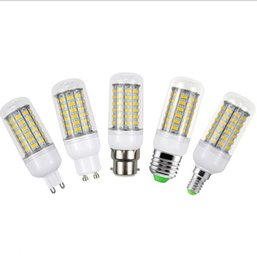 Wholesale fluorescent light bulb chandelier - E27 E14 G9 GU10 B22 LED Corn Bulb Replace 25W Fluorescent Lights 5730SMD 69LEDs 220V LED lamp For Chandelier Candle Lighting