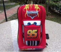 Wholesale 95 Cars - Wholesale- 2016 new 3D children backpacks car 95 water-proof kids school bag EVA kids backpacks kindergarten school bag