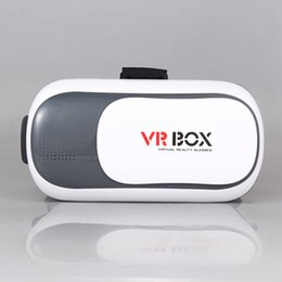 Wholesale Cheapest 3d Movies - DHL Free Cheapest Head Mount Plastic VR Box 3d VR Glasses Virtual Reality Box Google Cardboard 3d Movie For 3.5-6.0' Phones with Retail Box