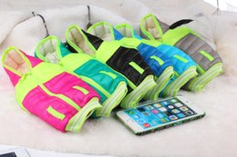 Wholesale Mobile Cover Designers - Fashion Down Jacket Case for iPhone 5s 5 Samsung S4 Note 2 Pouch Arm Band Case Cover Mobile Phone Bag New Skin Designer 8 Colors