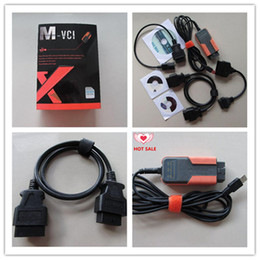 Wholesale Online Connector - 2017 V10.00.028 MVCI 3 in 1 For Le-xus S-cion To-yota TIS diagnostic tool Multi-language Update online DHL free shipping