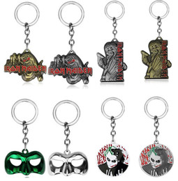 Wholesale Metal Animal Masks - Free shipping Union mask logo exquisite plating alloy key ring KR297 Keychains mix order 20 pieces a lot