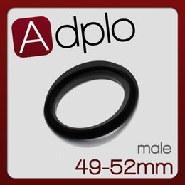 Wholesale Ring 49 52 - Wholesale- Male 49mm-52mm 49-52 mm Macro Reverse Ring Adapter