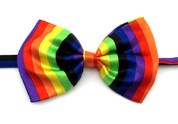 Wholesale Dogs Ties - 40pc lot 2017 Hot Sale polyester&silk butterfly pet dog cat puppy bow tie PE012