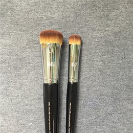 Wholesale Green Press - SEPHORAPRO PRO Press Full Coverage Complexion Brush #66 Precision #67 - Soft Hair Foundation Brush - Beauty Cosmetics Makeup Brushes Blender