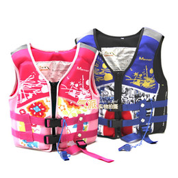 Wholesale Flotation Jackets - Wholesale- Men's Fishing Vest Adult Water Sport Safety Life Vest Foam Flotation Swimming Life Jacket Buoyancy Women Life Vest For Fishing