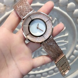 Wholesale Black Design Top - 2017 Fashion top brand Rose gold women watch special design model Lady sexy Wristwatch Limited Edition gold bracelet Watches free shipping