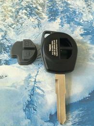 Wholesale Suzuki Ignis - Keyless Entry Fob Housing 2 Buttons Replacement Car Key Fob Case Blank Shell HU133R For SUZUKI GRAND VITARA SWIFT IGNIS