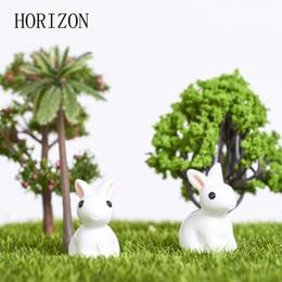 All'ingrosso-2016 New Hot Mini Coniglio / Riccio / Ornamento di tartaruga Miniature Figurine Vaso da fiori Fata Garden Decor Decorazione della casa 2pcs cheap miniature fairy garden plants da piante da giardino in miniatura fornitori