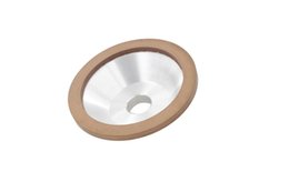 Wholesale Carbide Grinder - 1pc 100mm Diamond Resin Grinding Wheel Cup 100 150 180 200 240 320 Grit Cutter Grinder for Carbide Metal