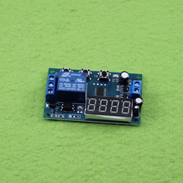Wholesale Digital Display Time Relay - 24V delay time switch time relay module digital display cycle automatic cycle (C2A6)