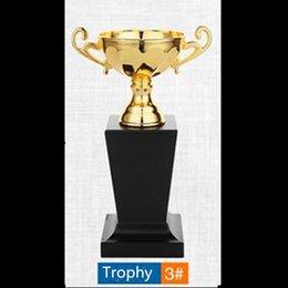 2019 basket-ball de musique 1 pcs le trophée marque nouveau football basketball sport musique star plaqué or métal trophée 22.5 cm de hauteur non magnétique trophée expédition DHL promotion basket-ball de musique